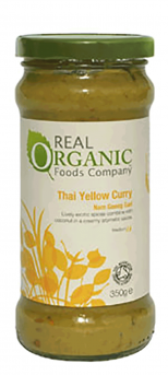 Real Organic Thai Yellow Curry Sauce
