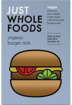 Just Wf Vegeburger Mix - Vegan