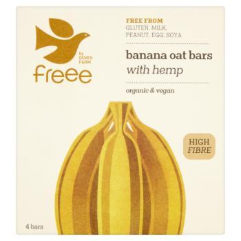 Doves Farm Multipack Banana Oat Bar With Hemp 435g