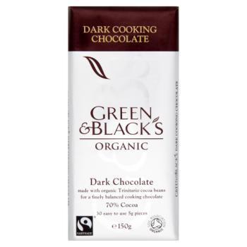 Green & Black Cooking Chocolate Bar - 70%