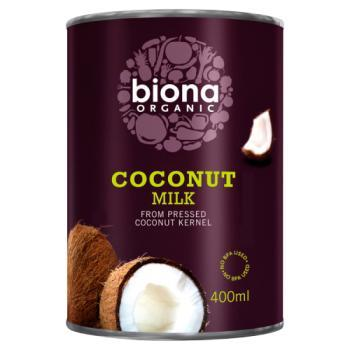 Biona Coconut Milk (17% Fat) - Lge