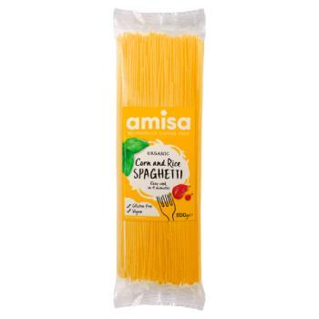 Amisa Organic Corn And Rice Spaghetti 500g