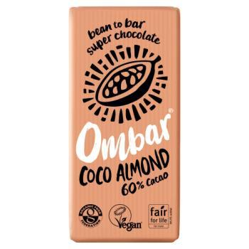 Ombar Coco Almond Chocolate - Large 70g