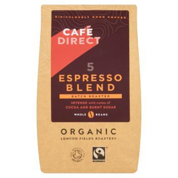 Cafedirect Whole Coffee Beans Espresso Blend 5
