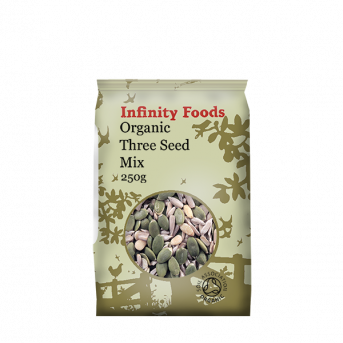 Infinity  Three Seed Mix Sunflower Pumpkin Pin