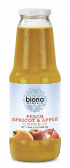 Biona Peach Apricot And Apple Juice