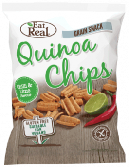 Eat Real Chilli & Lime Quinoa Chips - Small