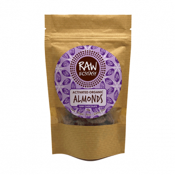 Raw Ecstasy Activated Almonds - Raw Chocolate