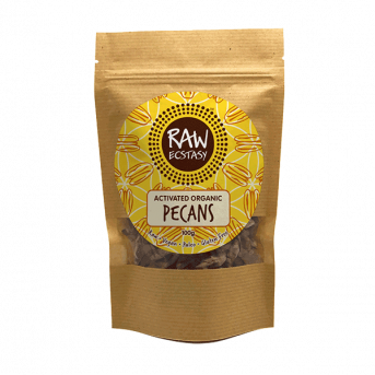 Raw Ecstasy Plain Activated Pecans