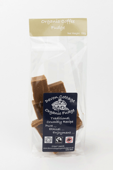 Devon Cottage Coffee Crumbly Fudge