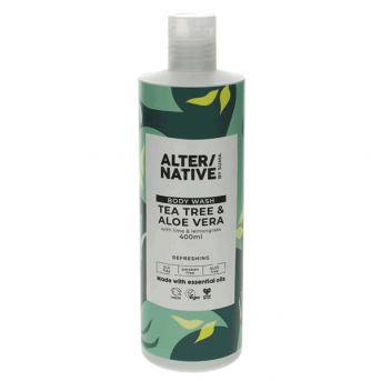 Alter/Native By Suma Tea Tree & Aloe Vera Bodywash