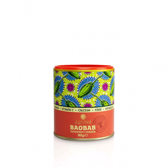 Aduna Baobab - Fruit Pulp Powder - Sml Tub Single