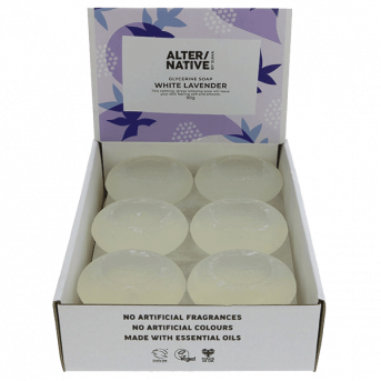 Alter/Native By Suma White Lavender Glycerine Soap