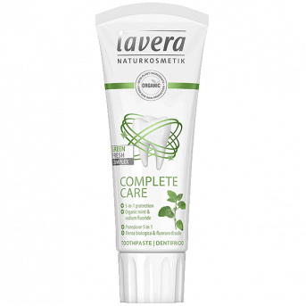 Lavera Complete Care Mint Toothpaste - With Fluor