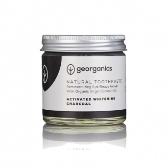 Georganics Activated Charcoal - Coconut Oil Toothpaste
