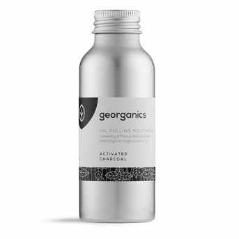Georganics Activated Charcoal - Oil Pulling Mouthwash