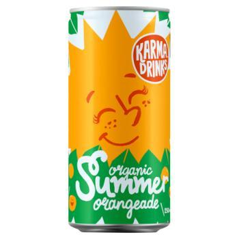 Karma Cola Summer Orangeade - Can 250ml