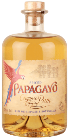 Papagayo Organic Spiced Golden Rum (70cl)