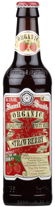 Samuel Smiths Organic Strawberry Fruit Beer (35cl)