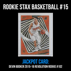 Rookie Stax - Basketball #15 - Devin Booker Revolution Rookie
