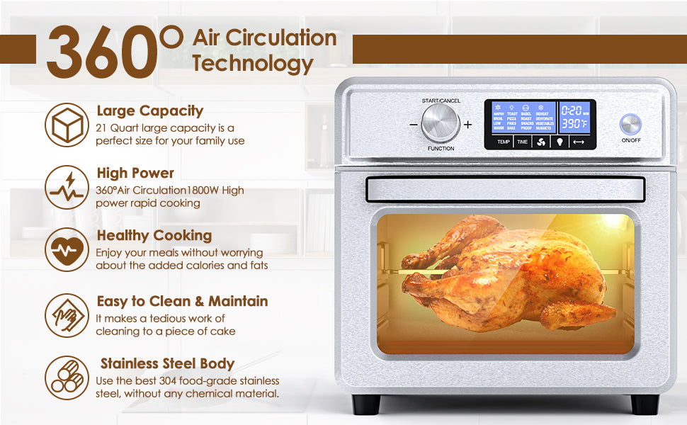 best toaster oven air fryer
