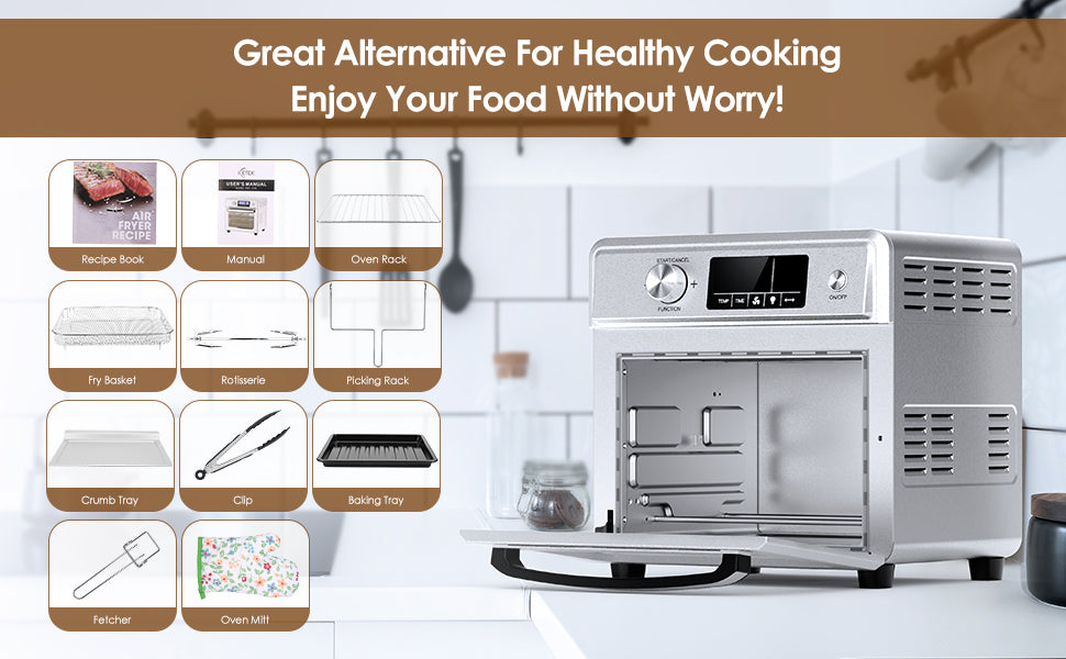 air fryer toaster oven reviews