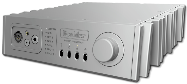 Boulder 812 Network Streamer / Preamplifier / Headphone Amplifier