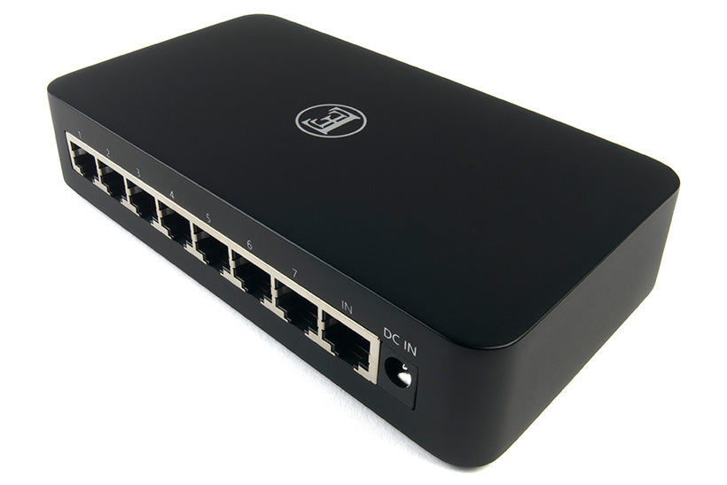 English Electric 8Switch Audio-Grade 8-Port Gigabit Network Switch