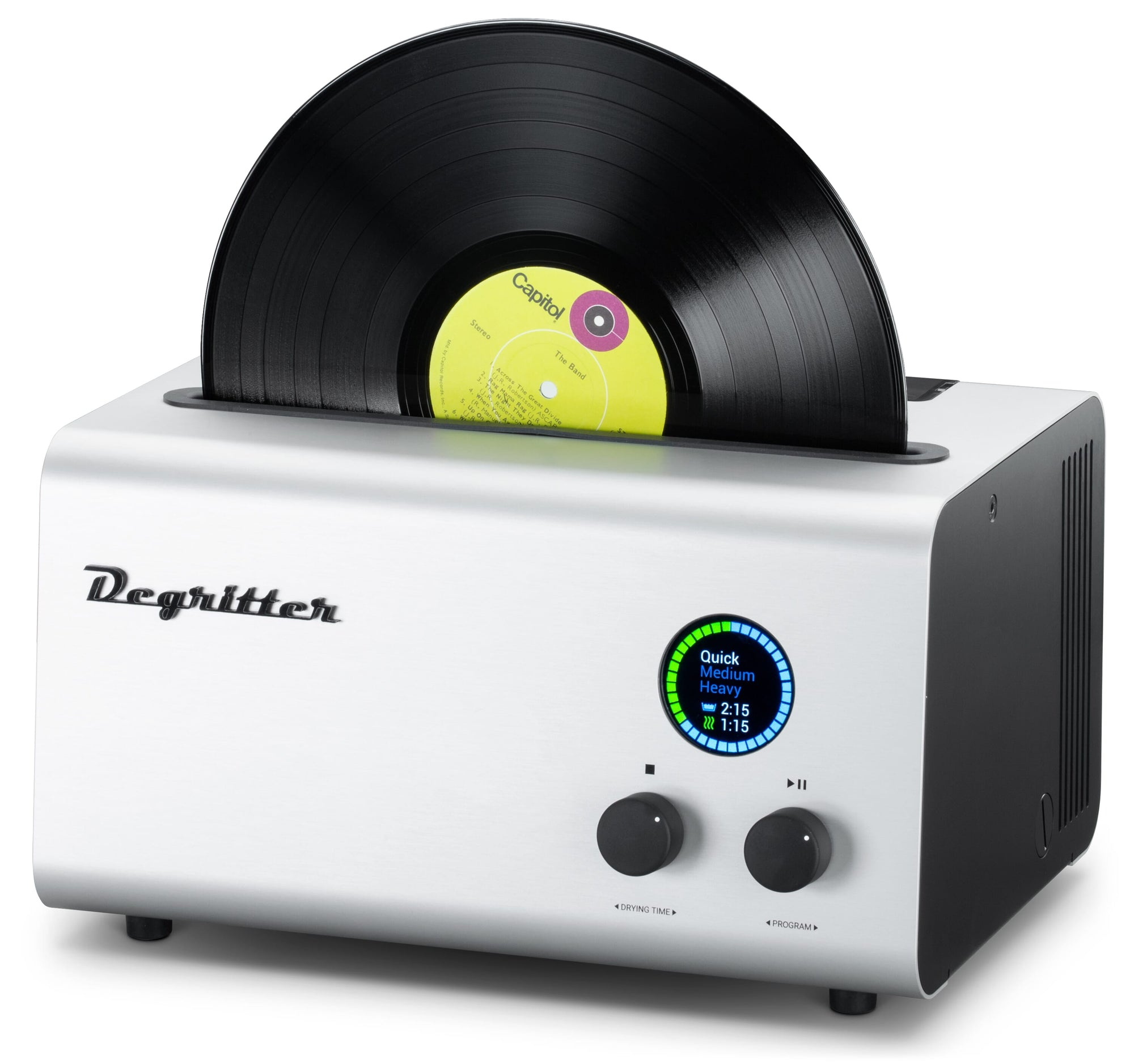 Degritter Ultrasonic Record Cleaning Machine (Bundle)