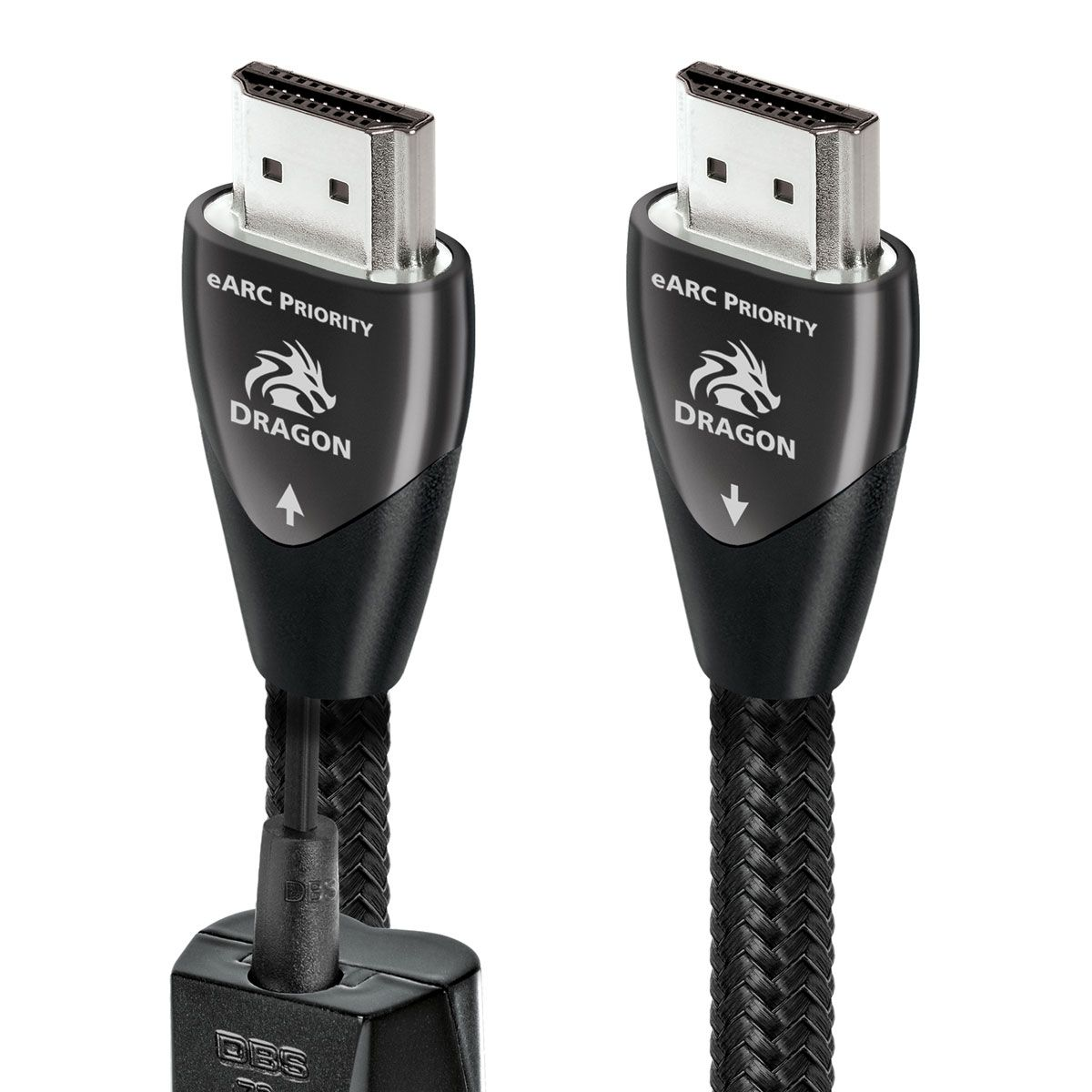Audioquest Dragon eARC Priority HDMI Cable (w/ 72v DBS System)