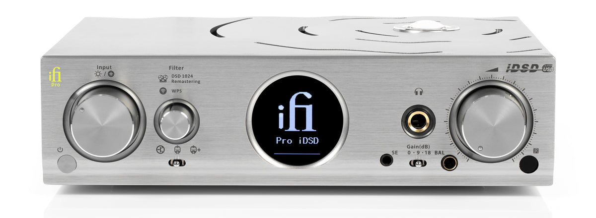 iFi Pro iDSD DAC/Headphone Amplifier/Network Streamer