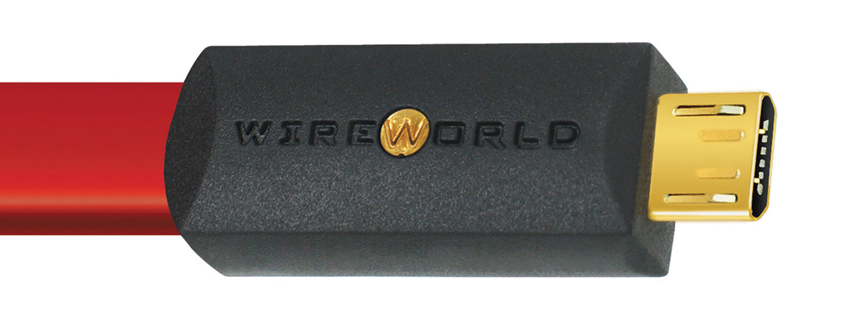 Wireworld Starlight 8 USB 2.0 A to Micro B Audio Cables