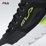 Fila Women's Lifestyle Disruptor 2A 016 Sneakers (Black/White/Safety Yellow)