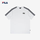 BTS FILA TAPE T SHIRT (White)