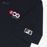 BTS FILA DNA GRAPHIC T SHIRT (Black)