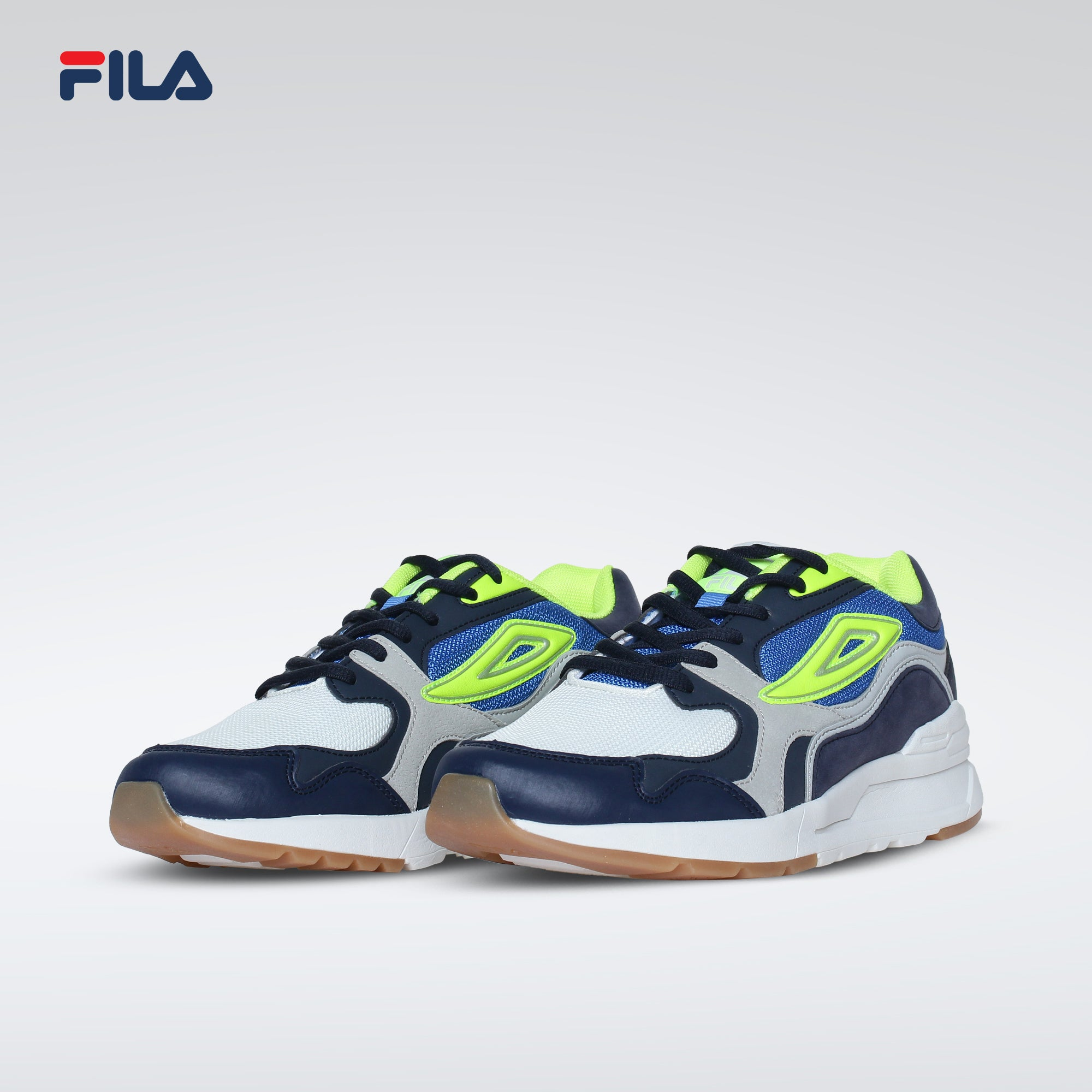 Fila Men's Hype Blade GRY/ROY/BLK/YEL