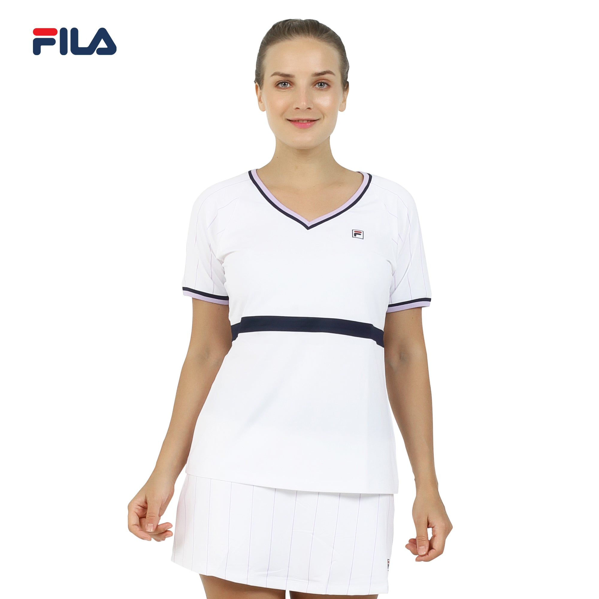 Fila Women's LS Spandex Knitted Blouse