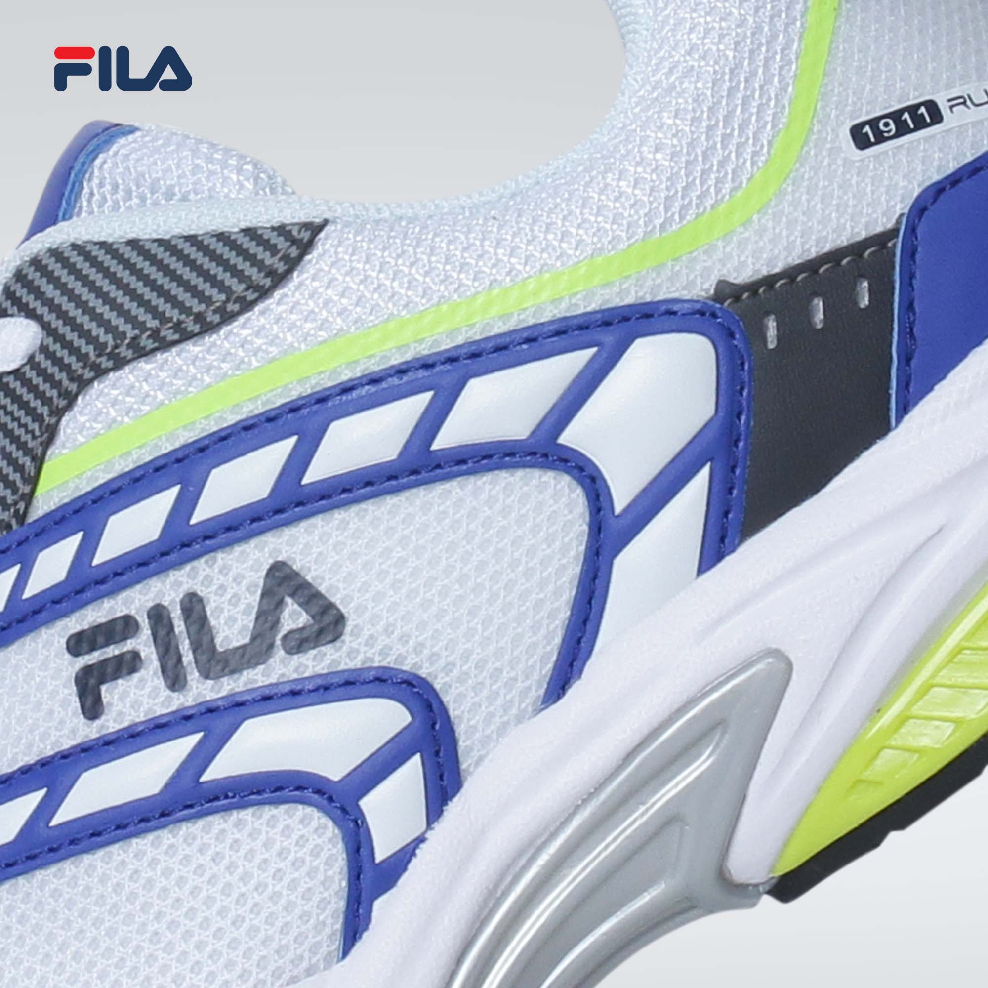 Fila Men's Volt Focus Foam White/Gray/Roy