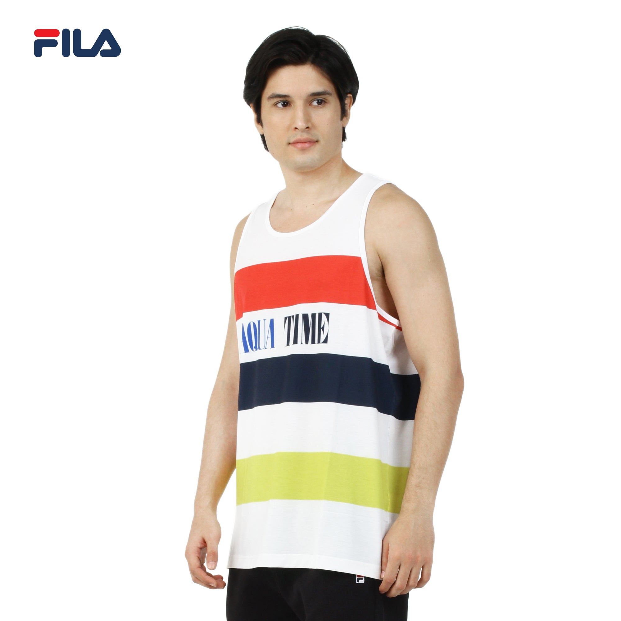 Fila Men's Sleeveless Shirt White