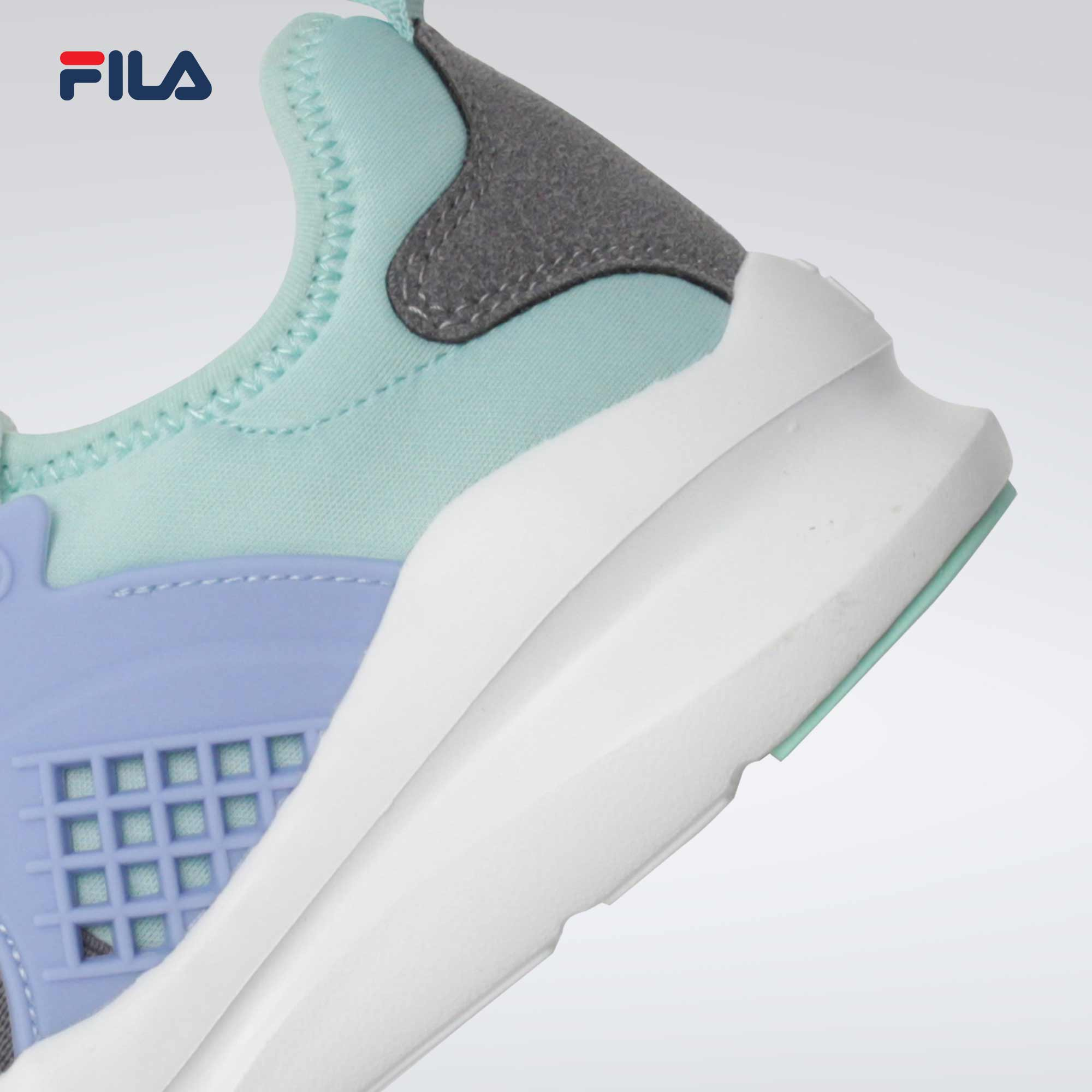 Fila Women's Performance Lytical Sneakers (GRAY/PP/GREEN)