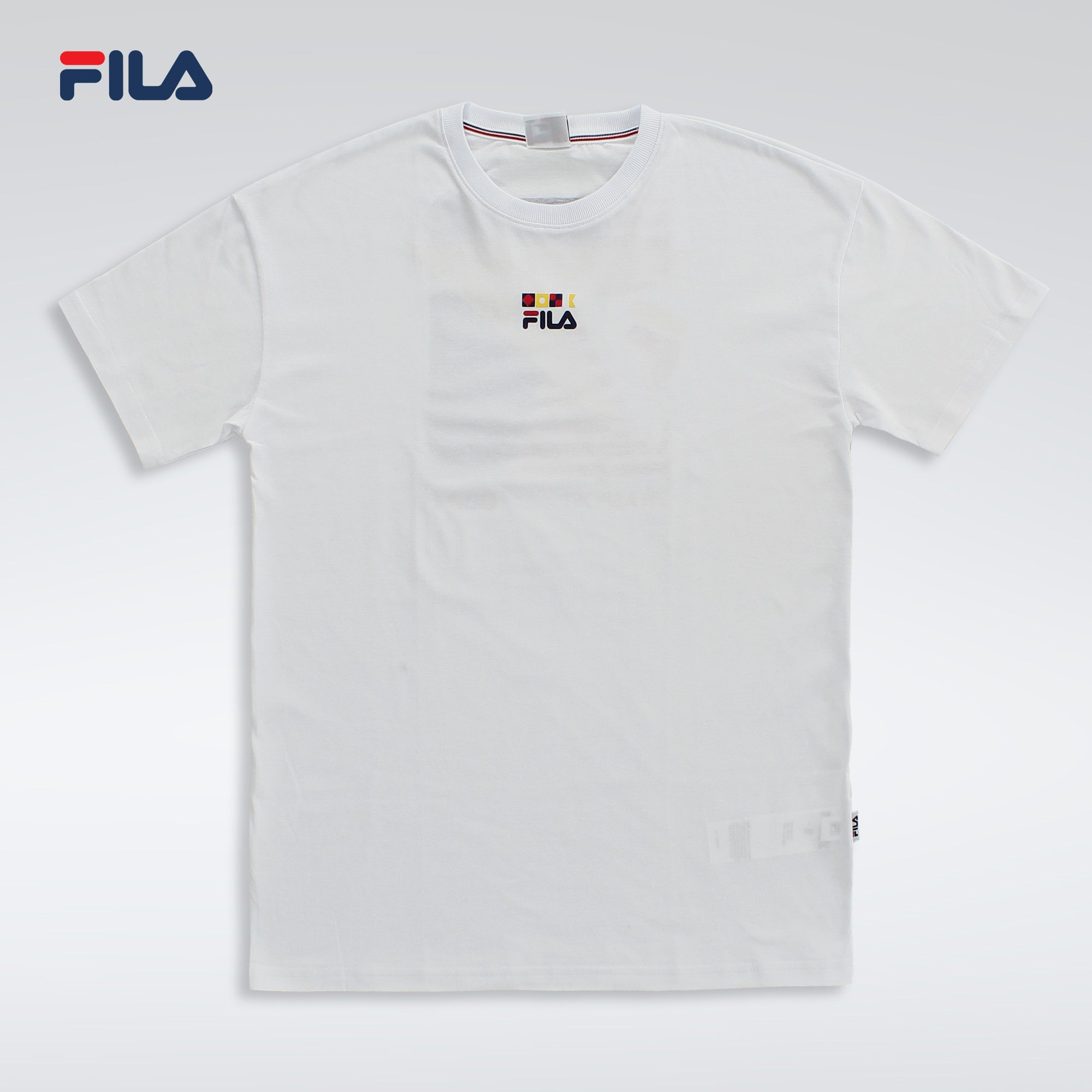 MEN TSHIRT ACQUA FLAG 100