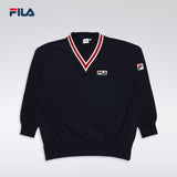 FILA KOREA Knit Sweatshirt INK NVY