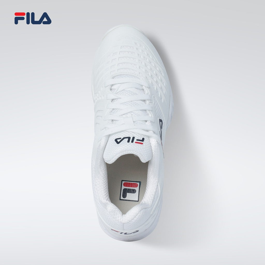 Fila Men's Performance Axilus 2 Energized 147 Sneakers (WHT/WHT/FNVY)