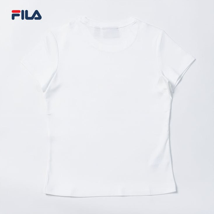 Womens Apparel Casual SS Tee (White)