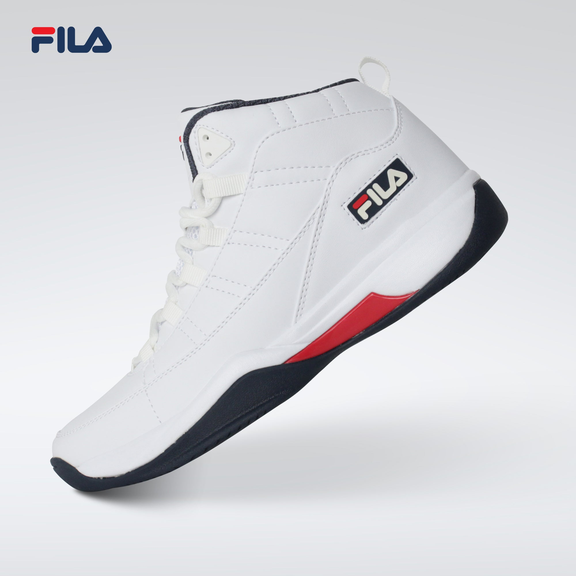 Fila Shoes Stomped Baller 2 (White/Navy)