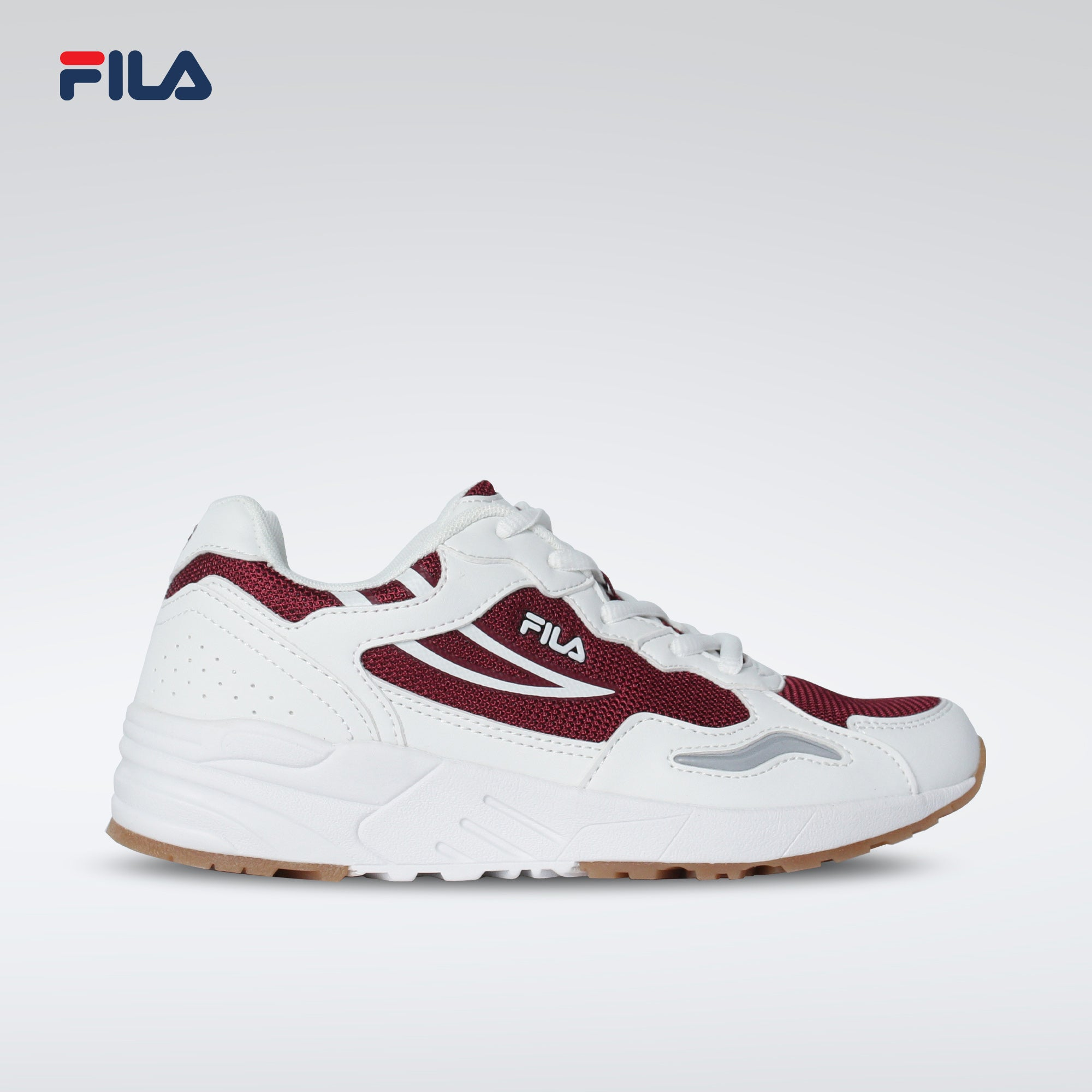Fila Women's Surface Run Pro (Wht/Maroon)