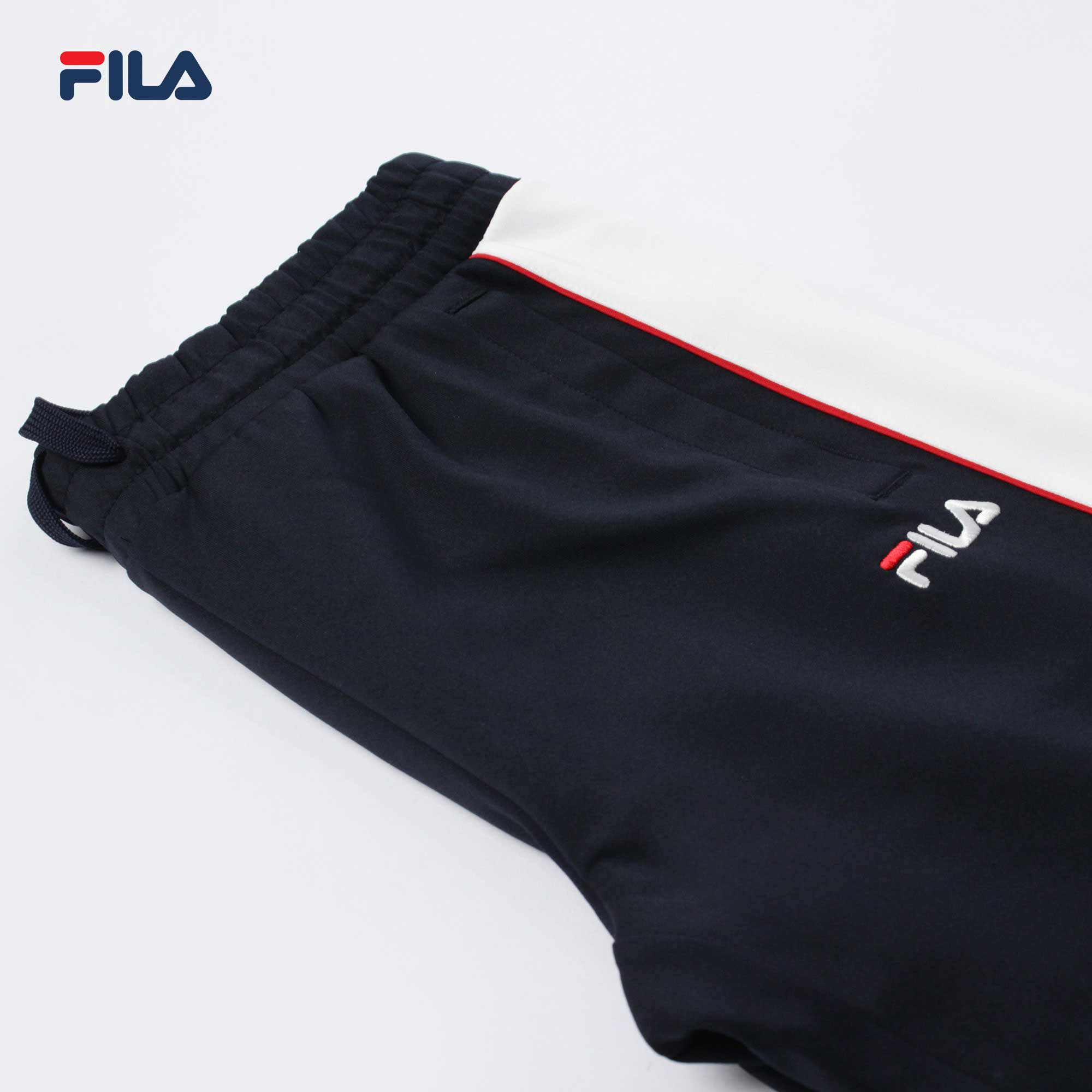 Fila White Line Fleece Pants (INA)