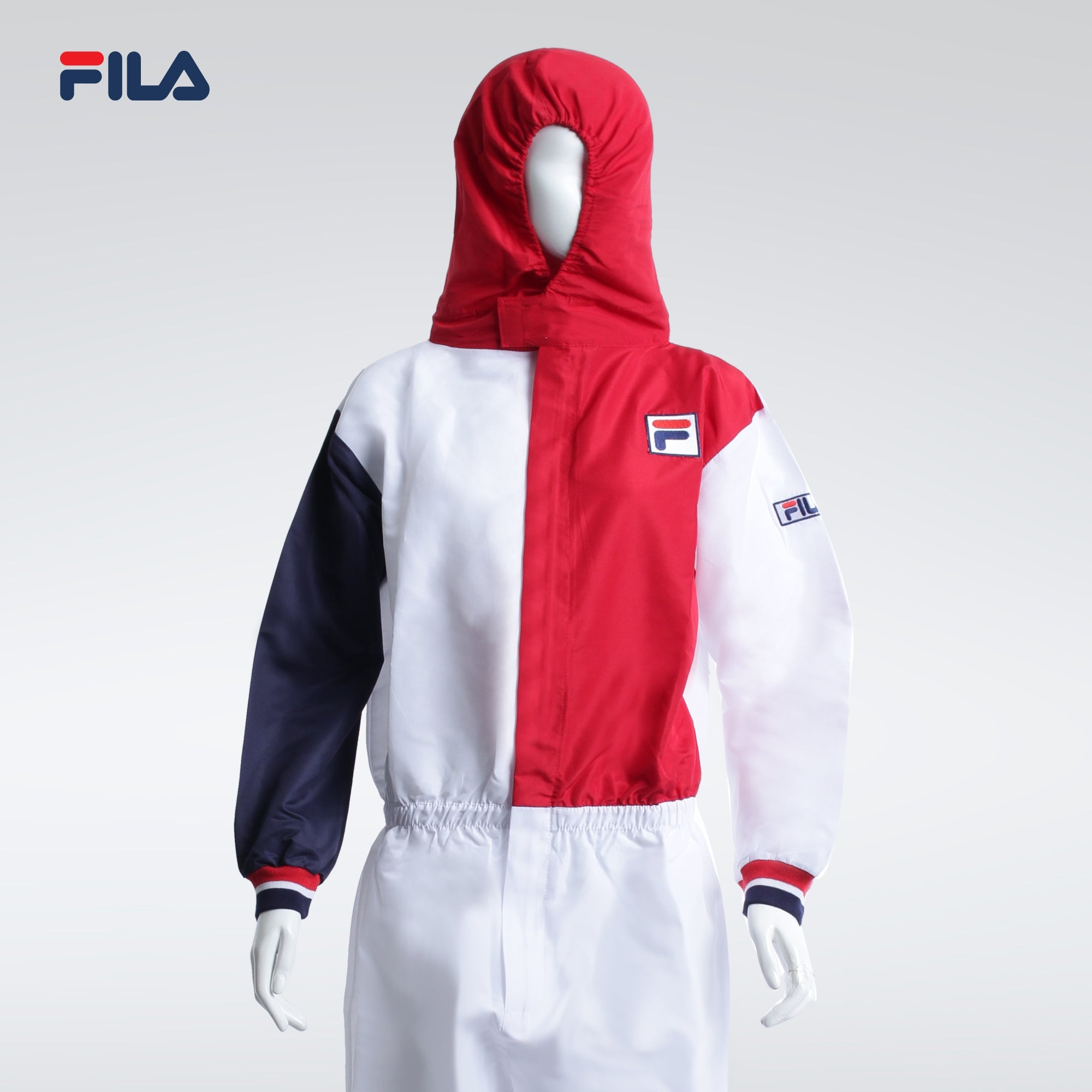 Fila Fashionable Unisex PPE Red and White