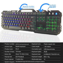 Load image into Gallery viewer, Scruffx Gameboard Gaming Keyboard