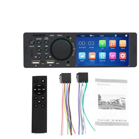 HD Dual USB Touch Screen Car Audio System